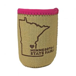 Liam Burlap Can Coozie