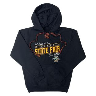 Signature Marquee Laced Hooded Sweatshirt