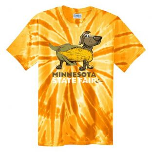 Youth Tie-Dye Corn Dog T-Shirt