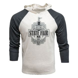 Space Needle Tri-Blend Hooded T-Shirt
