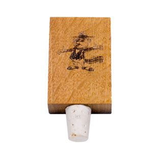 Barrel Mini Wine Stopper