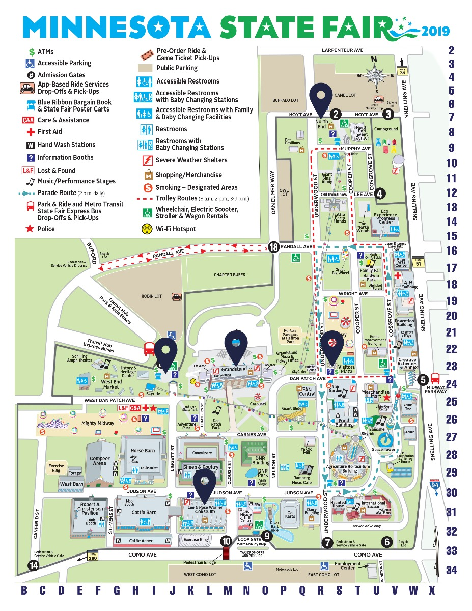 Minnesota State Fair Store Locations